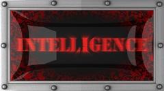 intelligence on led - stock footage