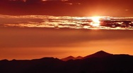 Timelapse Sunset Cloudscape HD38 Mts HD720 Stock Footage
