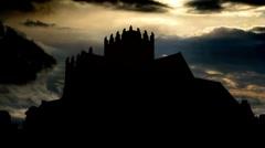 Ireland The Holy Cross Abbey monastery 2 Stock Footage
