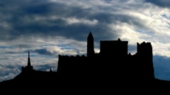Ireland The Rock of Cashel 3 Stock Footage