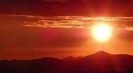 Timelapse Sunset Cloudscape HD39 Mts HD720 Stock Footage
