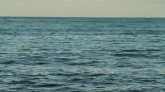 Open ocen, open water sea Stock Footage