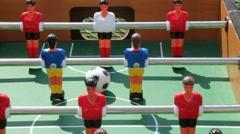 Fussball table Stock Footage