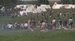 Stock Footage - Infantry troop battle Stock Footage