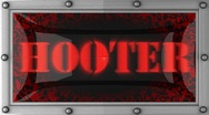 Hooter on led Stock Footage
