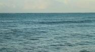 Stock Video Footage of Open ocean water sea