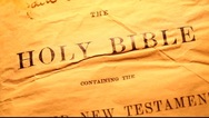 Stock Video Footage of Holy bible