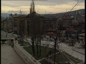 Stock Video Footage of Sarajevo at war times