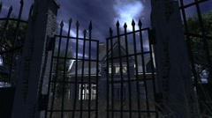 Scary House 04 neutral Stock Footage