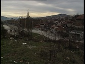 Stock Video Footage of Sarajevo at war times 3