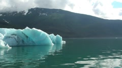 Tracy Arm, Sawyer glaciers e Stock Footage