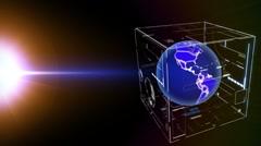 Global technologies. Stock Footage