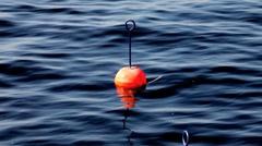buoy mooring - stock footage