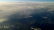 Stock Video Footage of Plane flying over the clouds 10