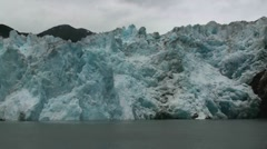 Tracy Arm, Sawyer glaciers, nnn Stock Footage