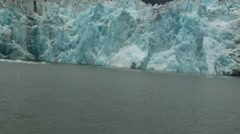 Tracy Arm, Sawyer glaciers Stock Footage