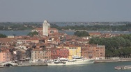 Stock Video Footage of Beautiful houses in Venice