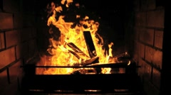 flames - stock footage