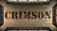 Stock Video Footage of crimson on wooden stamp