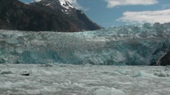 Tracy Arm, Sawyer glaciers ii Stock Footage