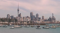 Auckland New Zealand Stock Footage