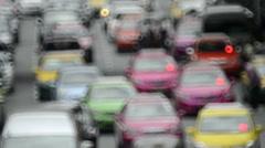 Defocussed Traffic Stock Footage