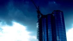 Corporate building timelapse - stock footage