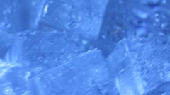 Ice background Stock Footage