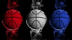 Basket Background 2 - HD1080 Stock Footage