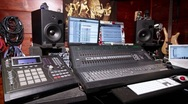 Stock Video Footage of Home Recording Studio mpc console 04