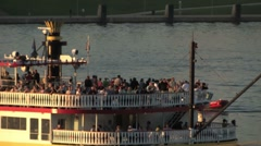 Pittsburgh Riverboat 2314 Stock Footage