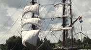 Stock Video Footage of Sails and rigging