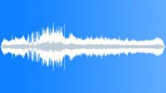 City birds with police siren - sound effect