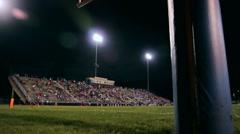Stadium Slider Night Stock Footage