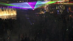 Toronto nuit blanche art festival - stock footage