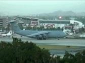 C-5 Lockheed Galaxy USAF - US Air Force Jet 4b Stock Footage