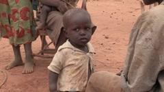 Kenya: Babies In Poverty Stock Footage