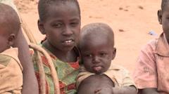Kenya: Children In Poverty Stock Footage