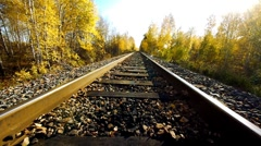 Old railroad 3 Stock Footage