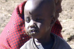 African Child - stock footage