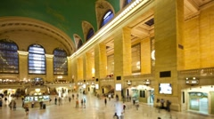 Grand Central is a terminal station - stock footage