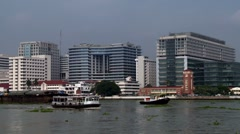 Chao Praya River - stock footage