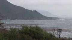 Carmel Beach Stock Footage