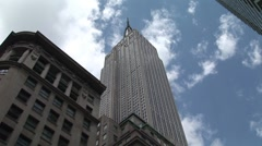 Stock Video Footage of Empire State Building