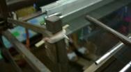 Silk Workshop Loom Stock Footage