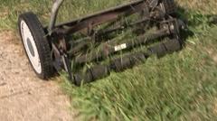 Lawn Mower Stock Footage