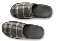 Stock Video Footage of slippers  zoom in 1080p overhead shot
