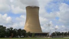 Coal burning Power Plant Stock Footage