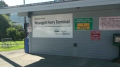 Alaska State Ferry, Ketchikan to Wrangell Stock Footage
