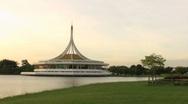 Asian Museum At Kings Park In Bangkok Stock Footage